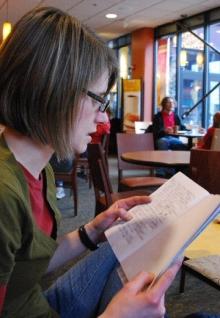 Danielle reads her work