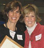 Kim Larson and Kim Ridder