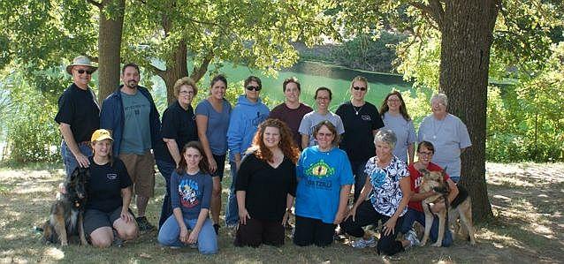 2012 Platte River Writing Marathon participants