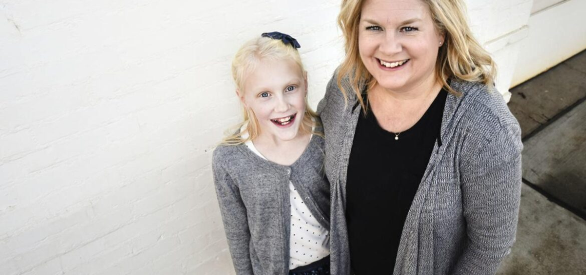Lily Abele and her mother, Melissa