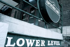Apothecary shop sign