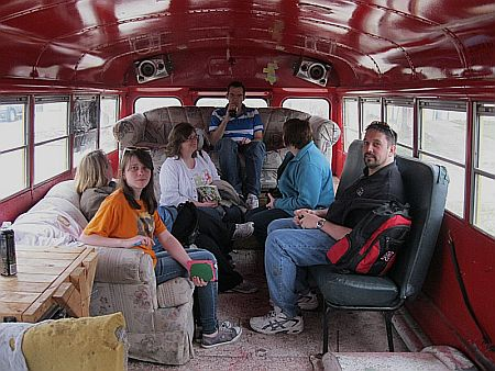 Writers on the bus