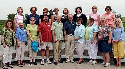 2007 Advisory Board members at retreat