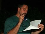 Jeff Grinvalds reading aloud