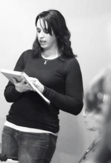 Jennifer Gotschall reading