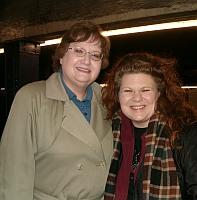 Sharon Bishop and Susan Martens-Baker