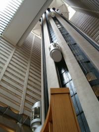 Skyscraper elevator