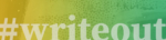 Hashtag writeout banner